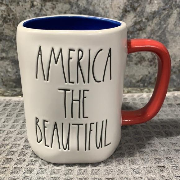 Rae Dunn AMERICA THE BEAUTIFUL Mug